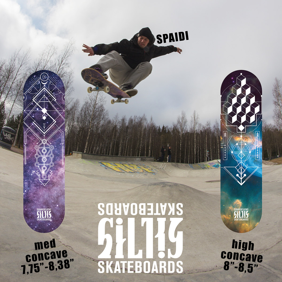 Silky Skateboards dekit